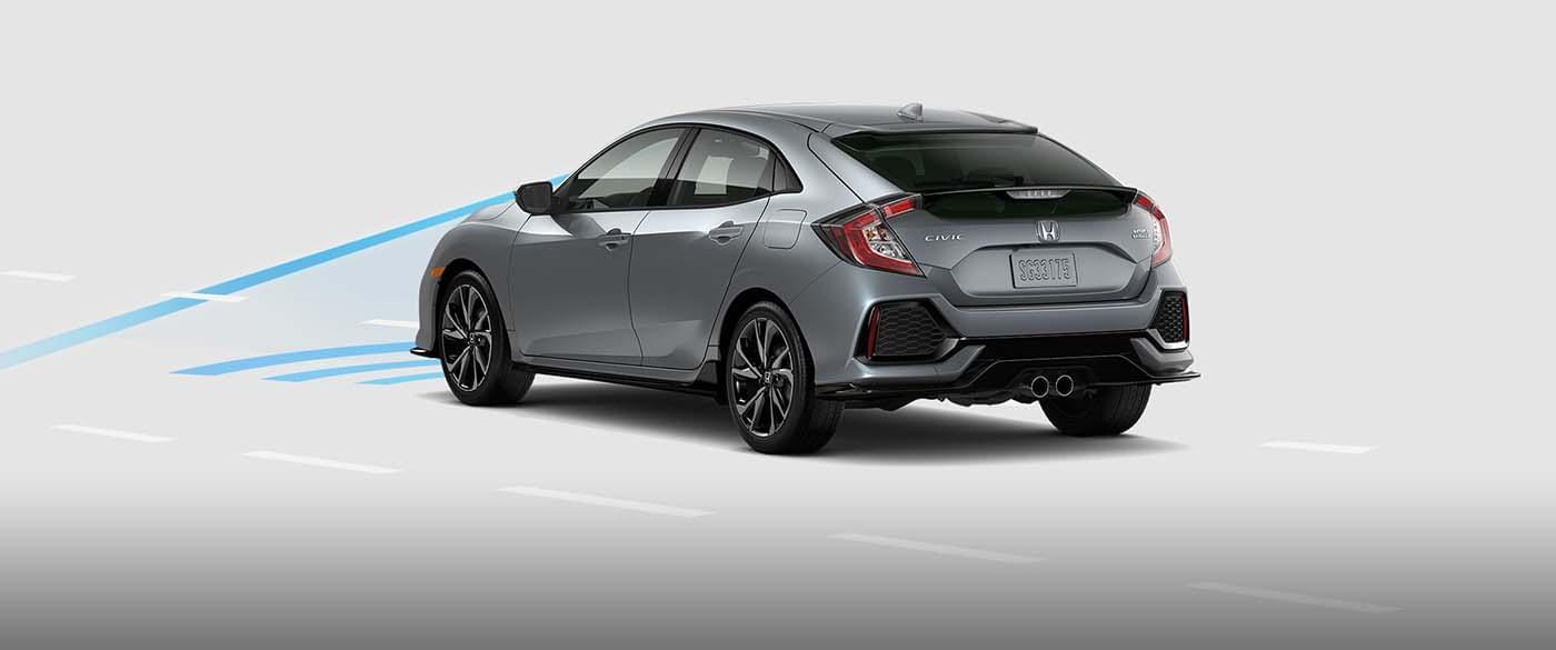 2017 Honda Civic Collision Mitigation Braking System