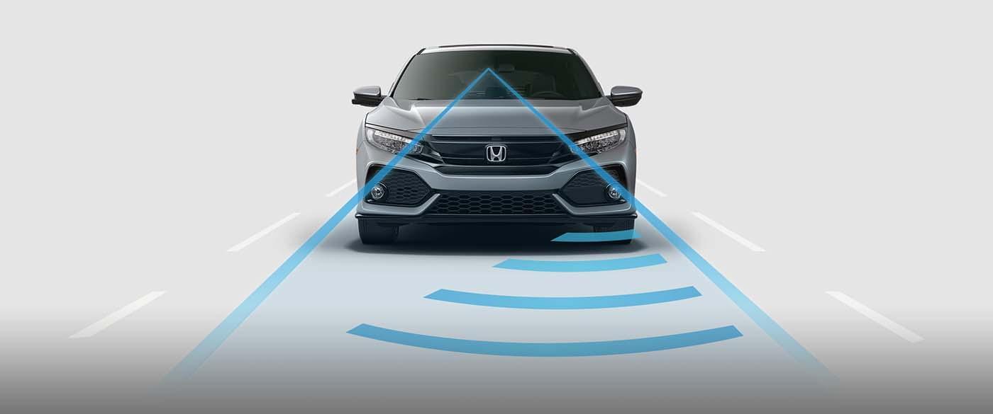2017 Honda Civic Hatchback Adaptive Cruise Control