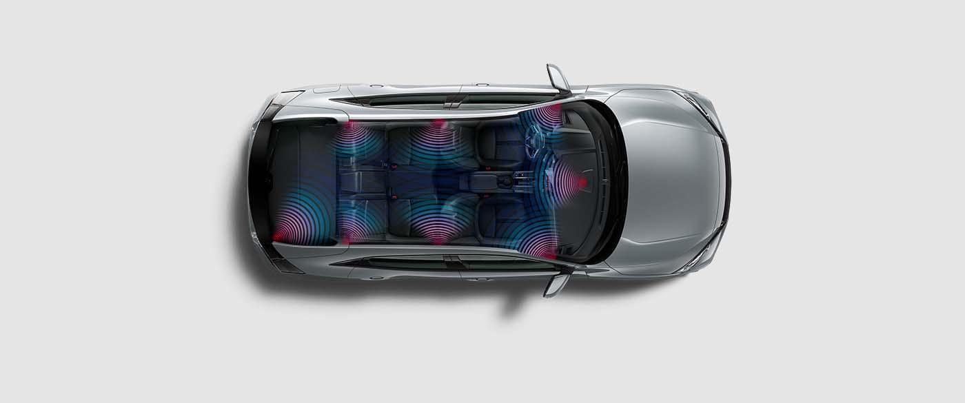Honda Civic Hatchback Audio Stereo System