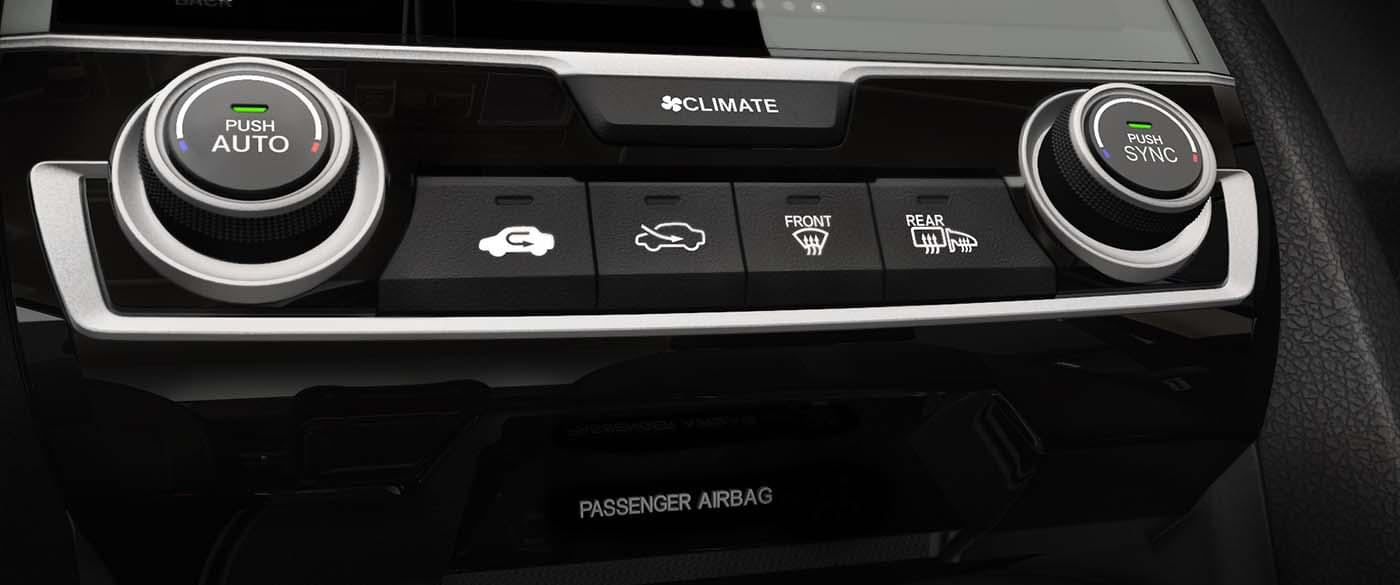 Honda Civic Hatchback Climate Control