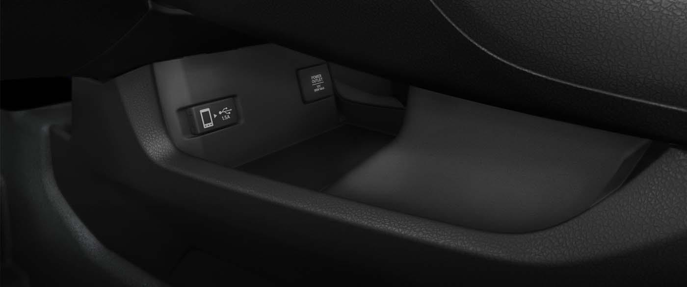 Honda Civic Hatchback USB Charging Station