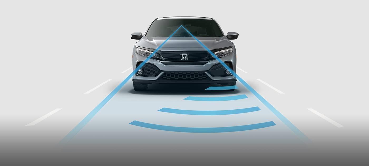2017 Honda Civic HB Front