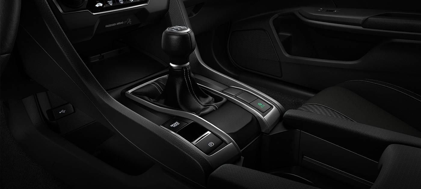 2017 Honda Civic HB Shifter