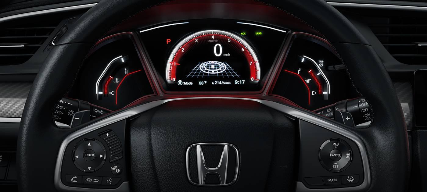 2017 Honda Civic HB Dash