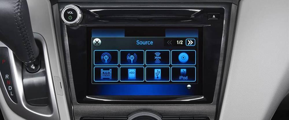 2017 Honda Odyssey Touchscreen