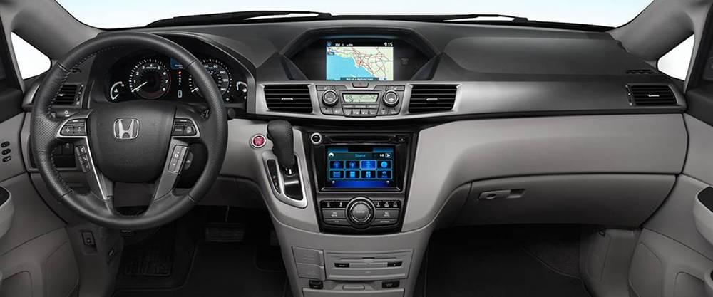 2017 Honda Odyssey Dash