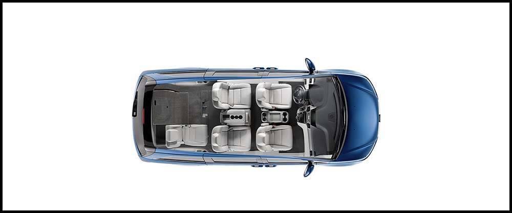 2017 Honda Odyssey Overhead Shot