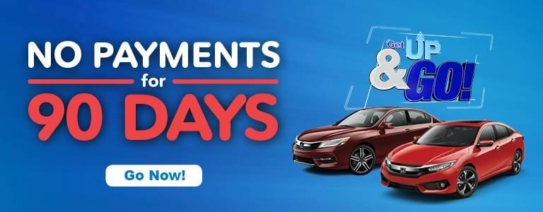 Metro Milwaukee Honda Dealers 90-Day Deferred Payments