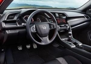 2017 Honda Civic Si Dash