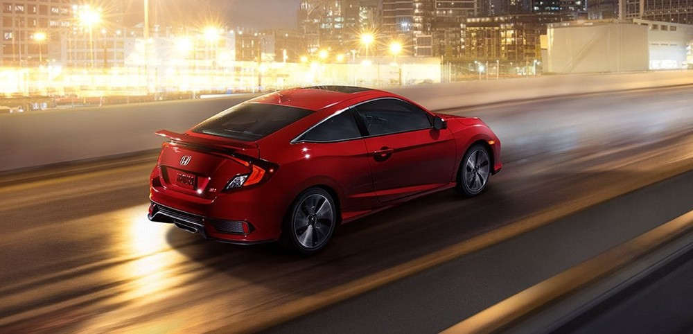 2017 Honda Civic Si Driving