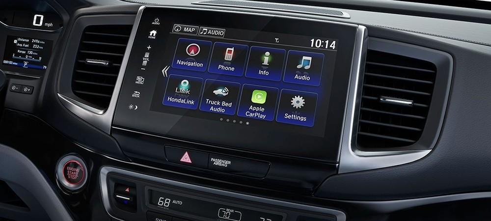 2018 Honda Ridgeline Touchscreen