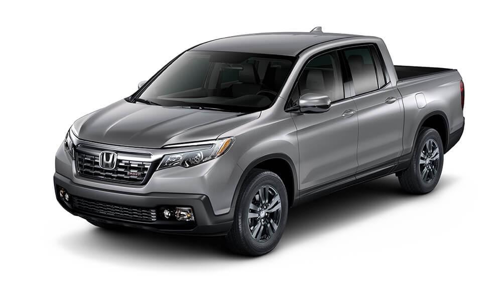 2018 Honda Ridgeline Gray