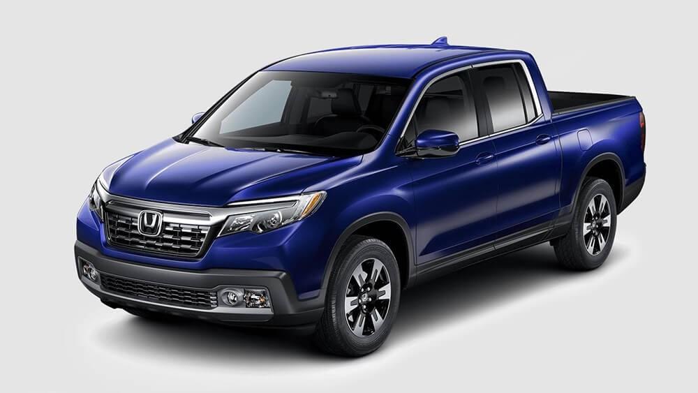 2018 Honda Ridgeline Blue
