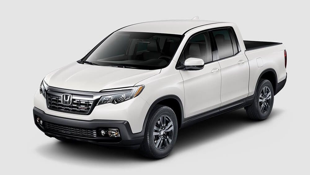 2018 Honda Ridgeline White