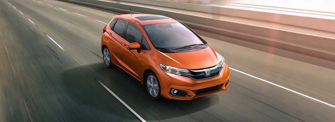2018 Honda Fit Driving