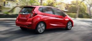 2018 Honda Fit Red