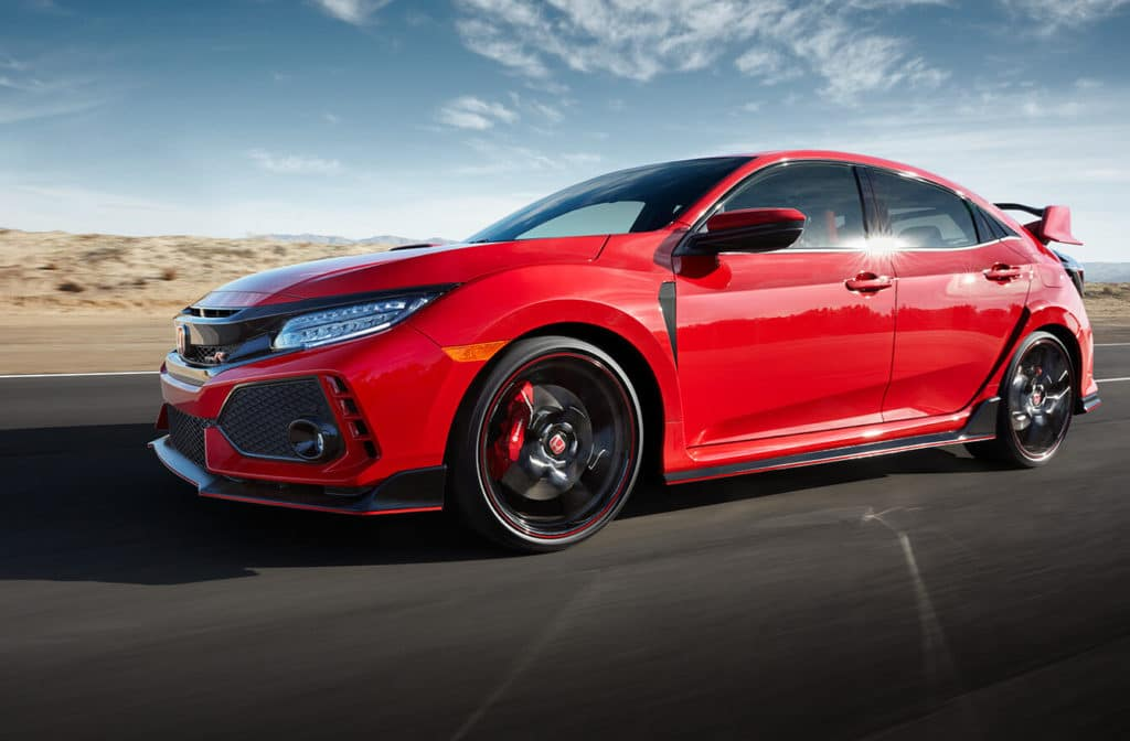 2018 honda civic type r milwaukee honda dealers