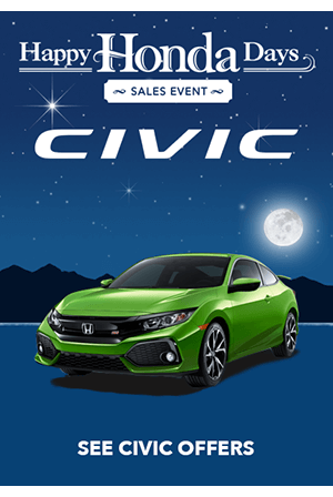 Happy Honda Days Civic Offers
