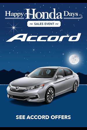 Happy Honda Days Accord Offers
