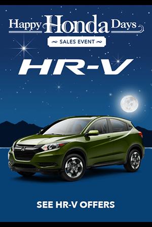 Happy Honda Days HR-V Offers