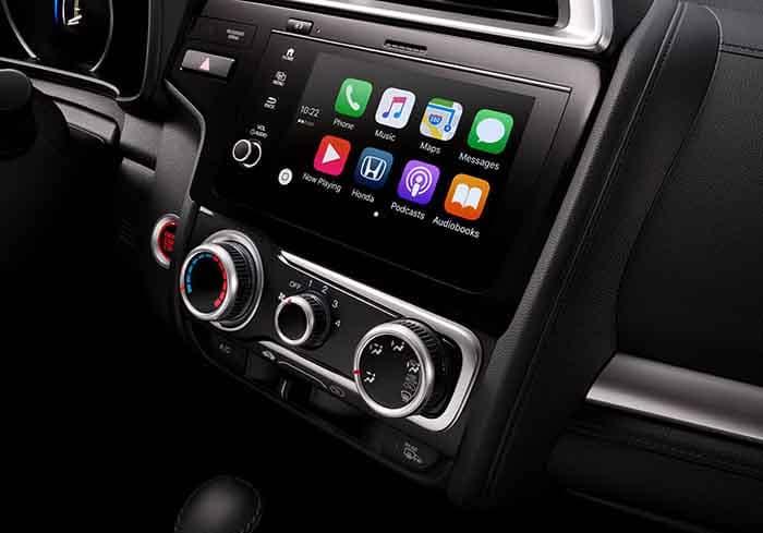 Honda Fit Apple Carplay