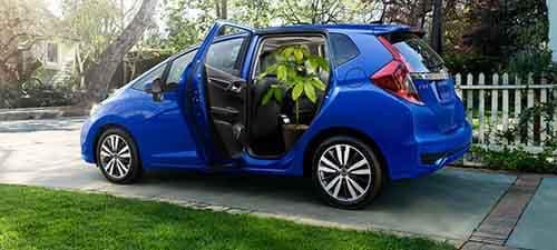 Honda Fit Tall Mode
