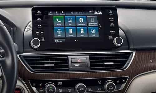 2018 Honda Accord Display Screen