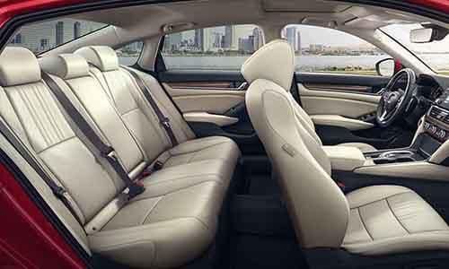 2018 Honda Accord Interior Seating