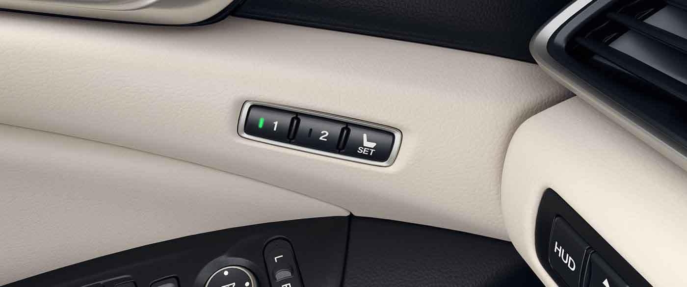 2018 Honda Accord Memory Seats