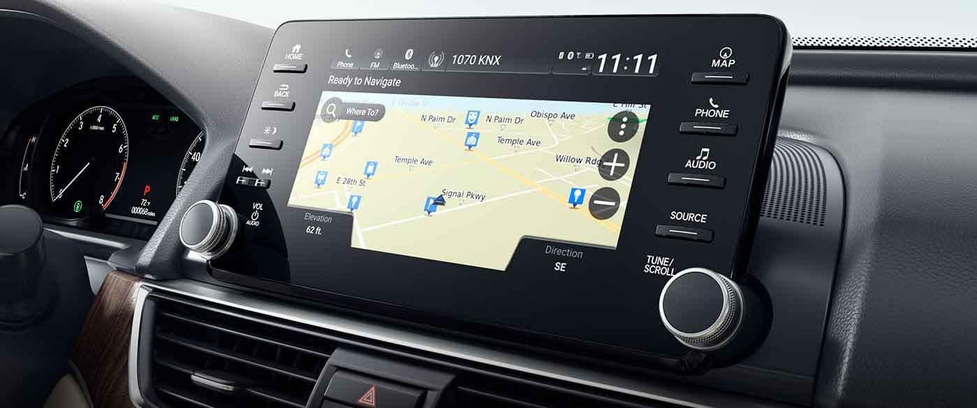 2018 Honda Accord Navigation