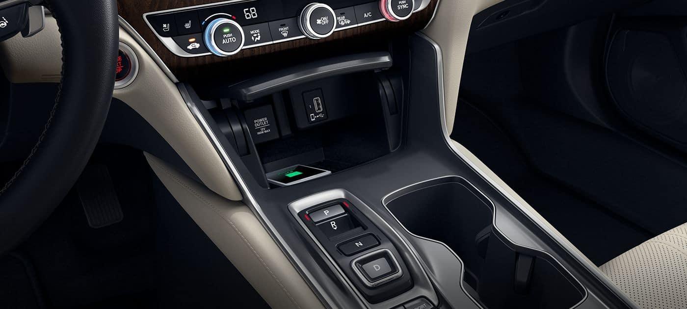 2018 Honda Accord Wireless Charging