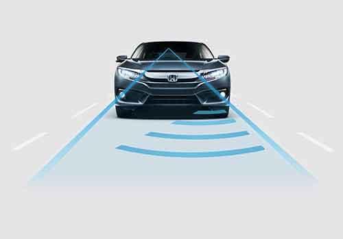 2018 Honda Civic Sedan Adaptive Cruise Control