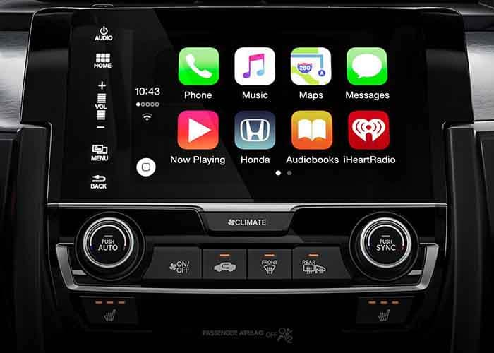 2018 Honda Civic Sedan Apple Carplay