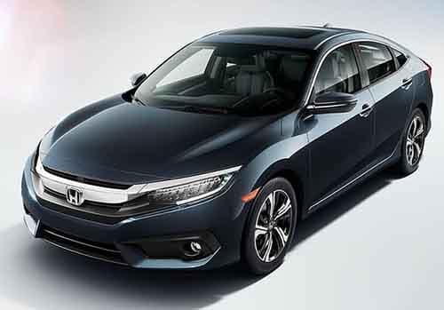2018 Honda Civic Sedan Body Structure