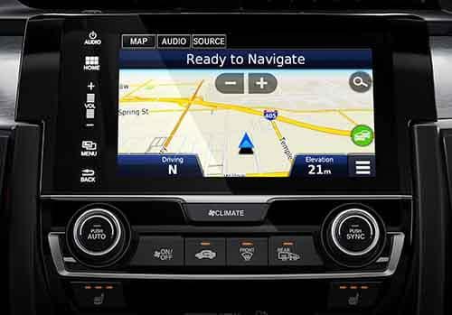 2018 Honda Civic Sedan Navigation