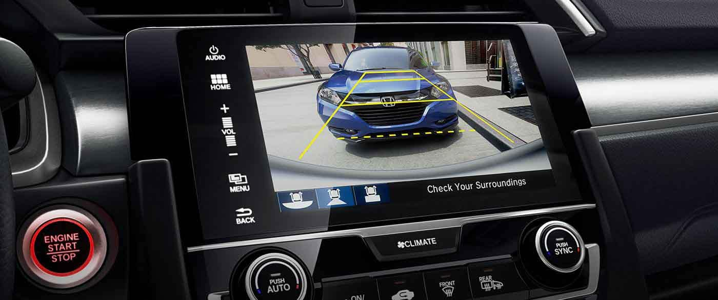 2018 Honda Civic Sedan Rearview Camera