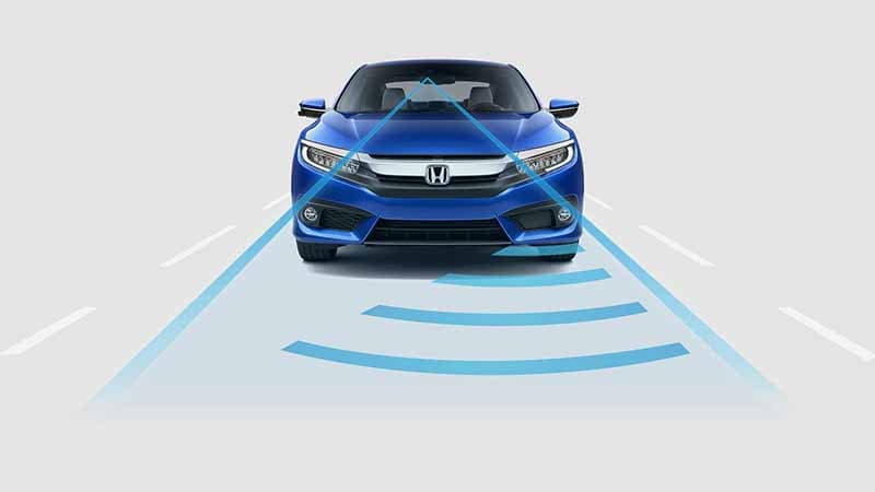 2018 Honda Civic Coupe Adaptive Cruise Control