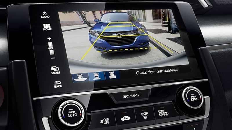 2018 Honda Civic Coupe Rear View Camera