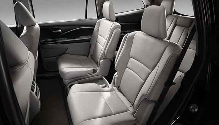 2018 Honda Pilot 2nd Row Captains Chairs