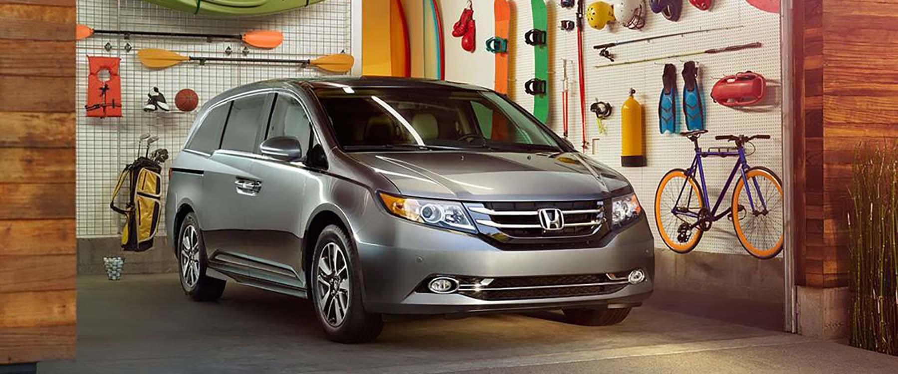2017 Honda Odyssey Garage
