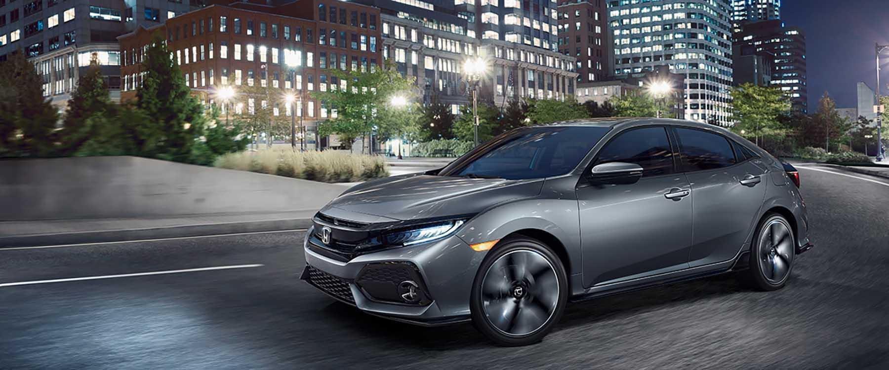 2017 Honda Civic Hatchback Driving