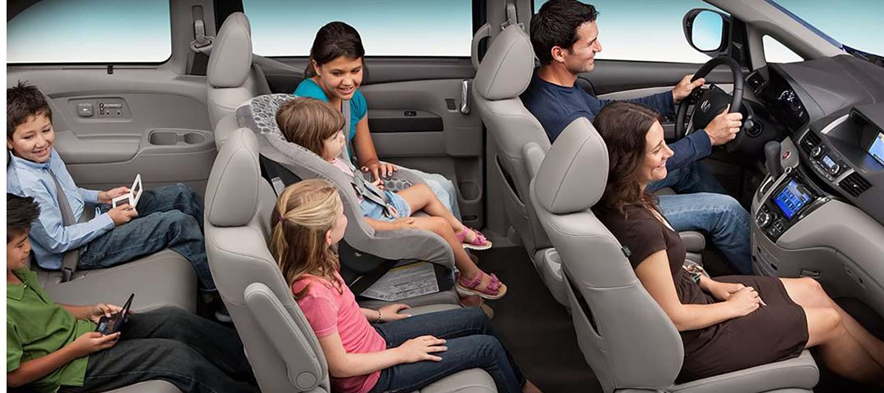 2017 Honda Odyssey Passengers