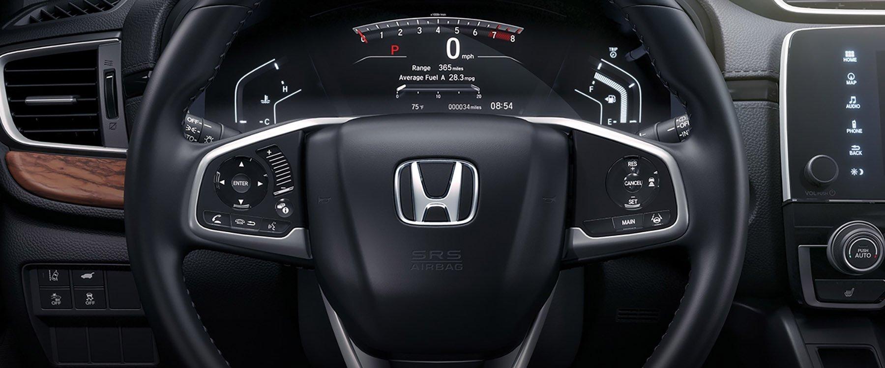 2017 Honda CR-V Tech Background
