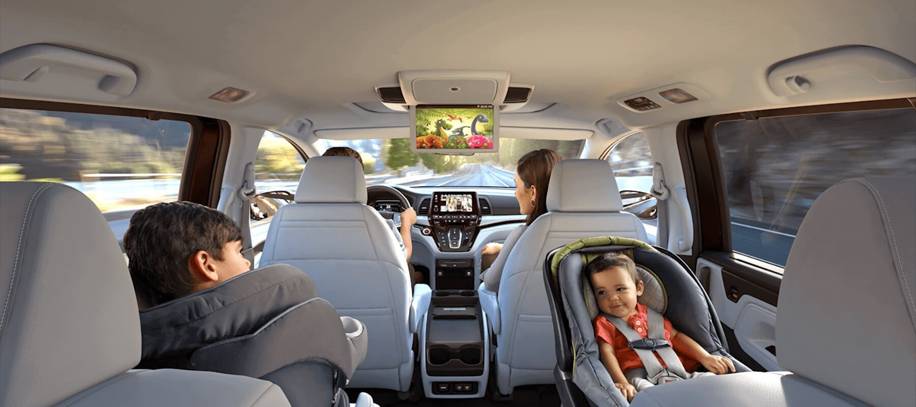 Experience The Family Oriented Honda Odyssey Interior