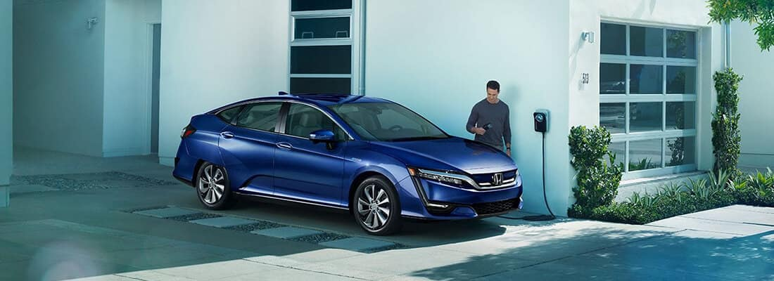2017 Honda Clarity Charging
