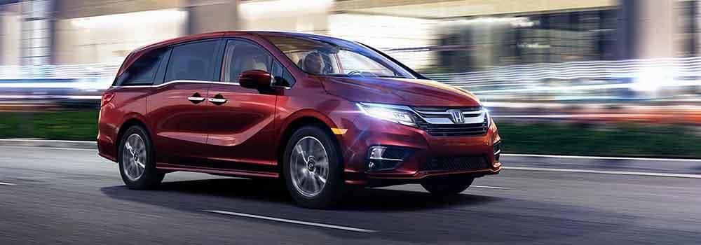 Honda Odyssey driving