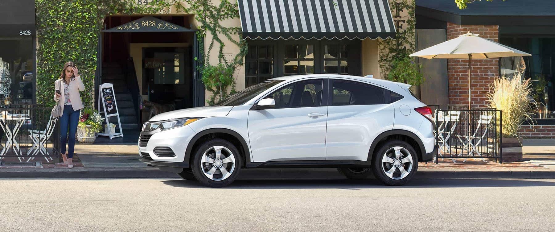 2019 Honda HR-V LX Parked on Side of Street