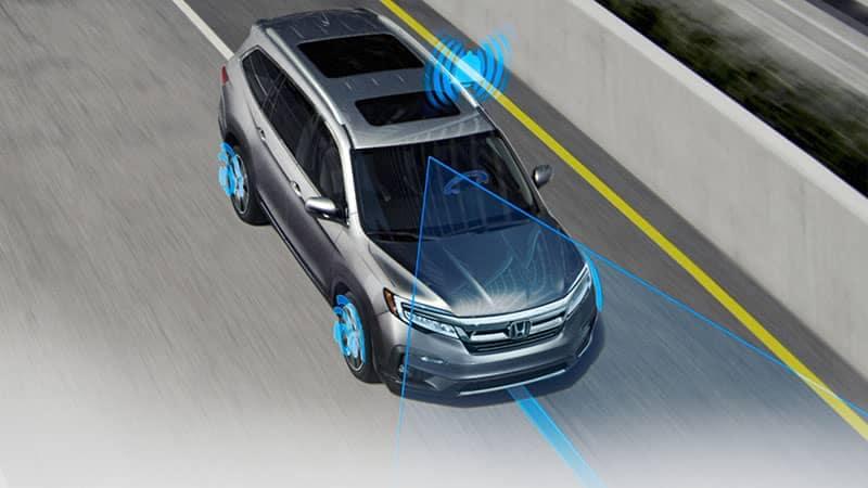 2019 Honda Pilot Honda Sensing