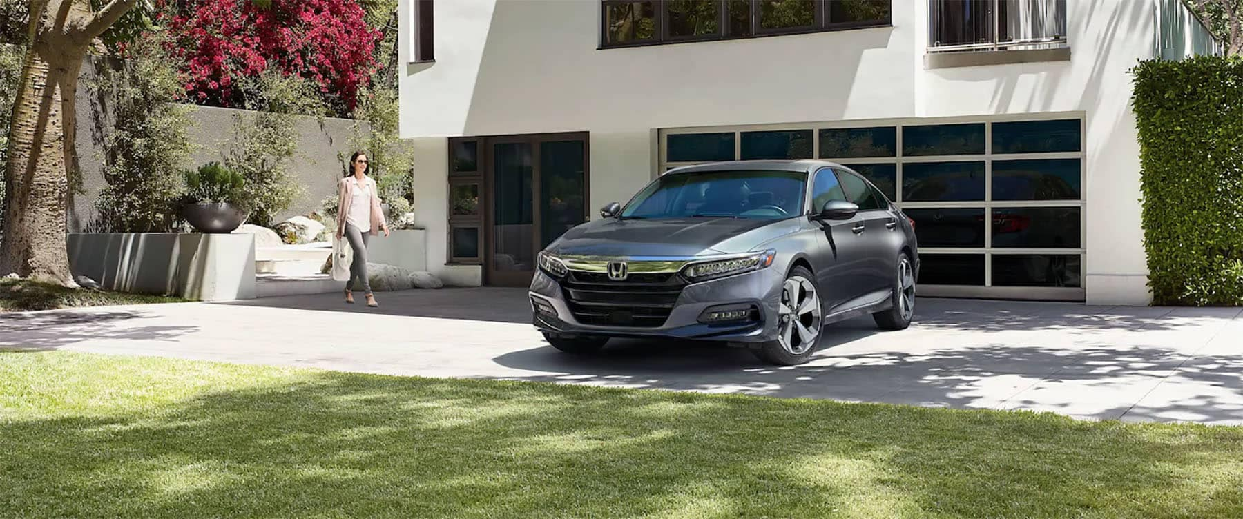 2019 Honda Accord Parked Outside Home
