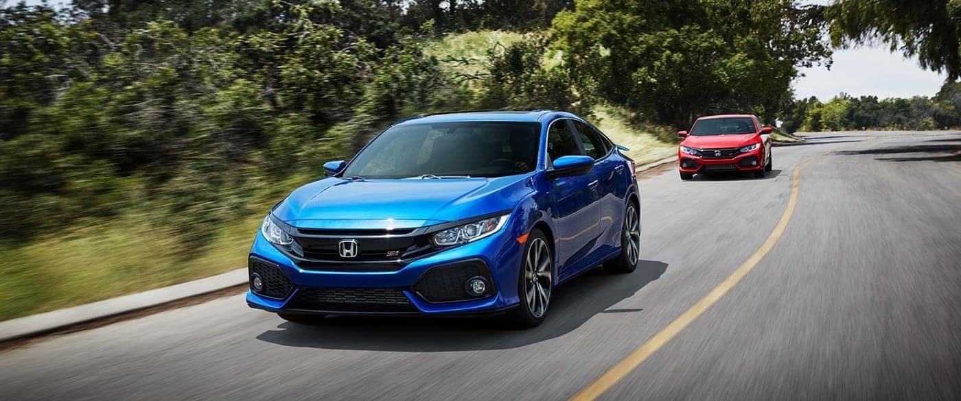 2019 Honda Civic si model